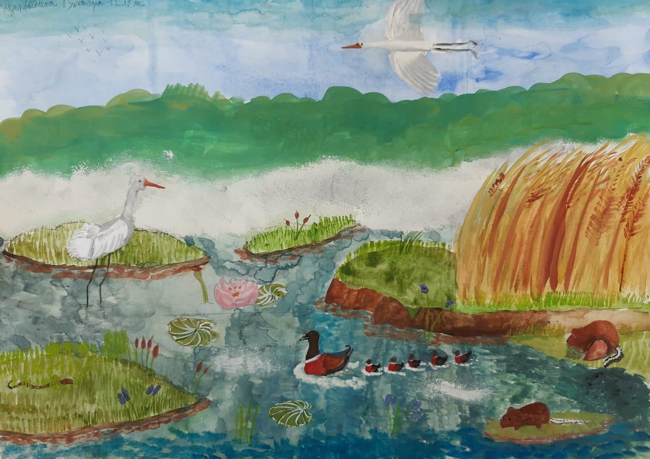 Померяются мастерством с представителями Монголии и Китая юные художники Биробиджана