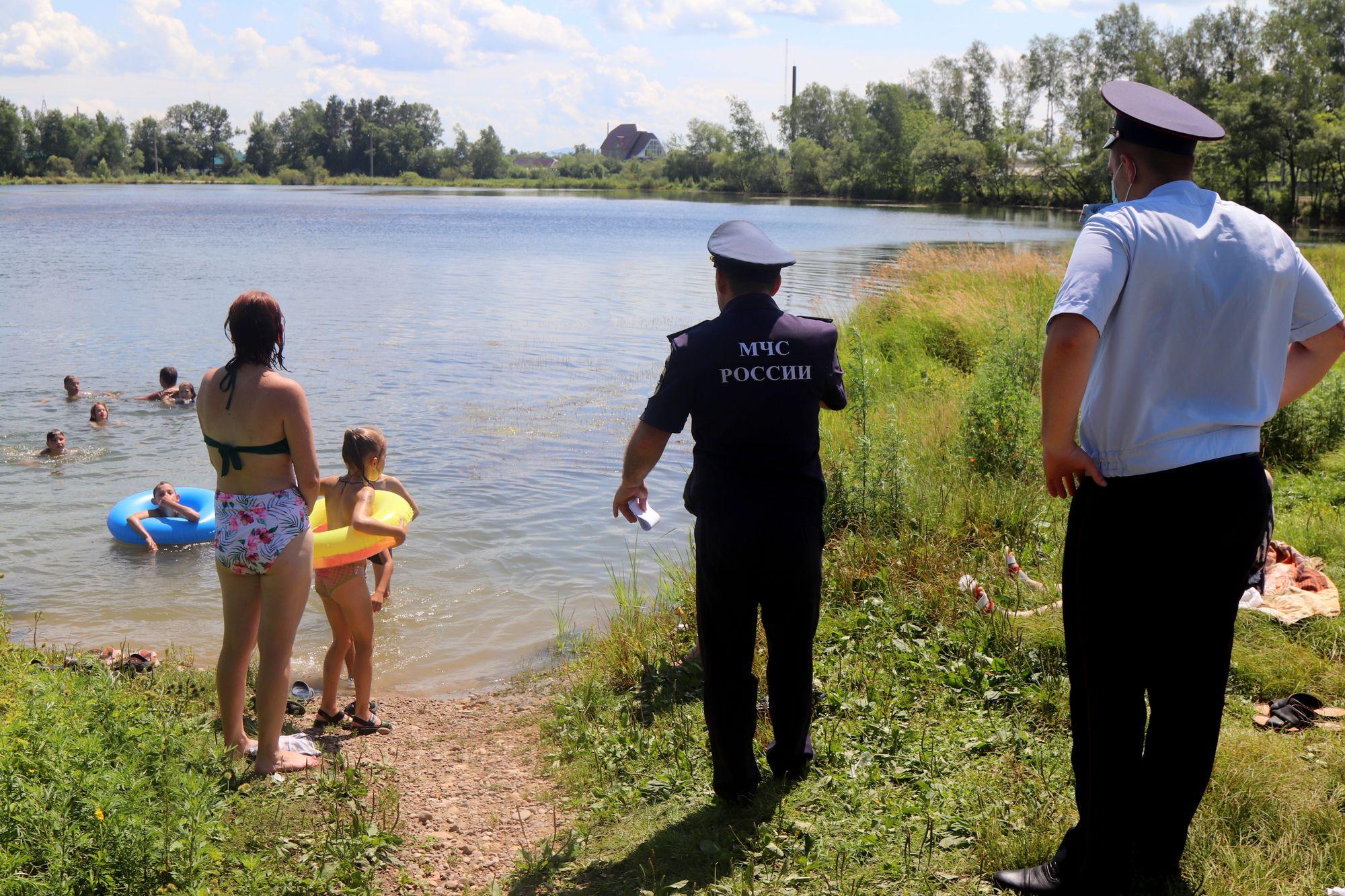 Утонули восемь человек с начала купального сезона в Еврейской автономной области